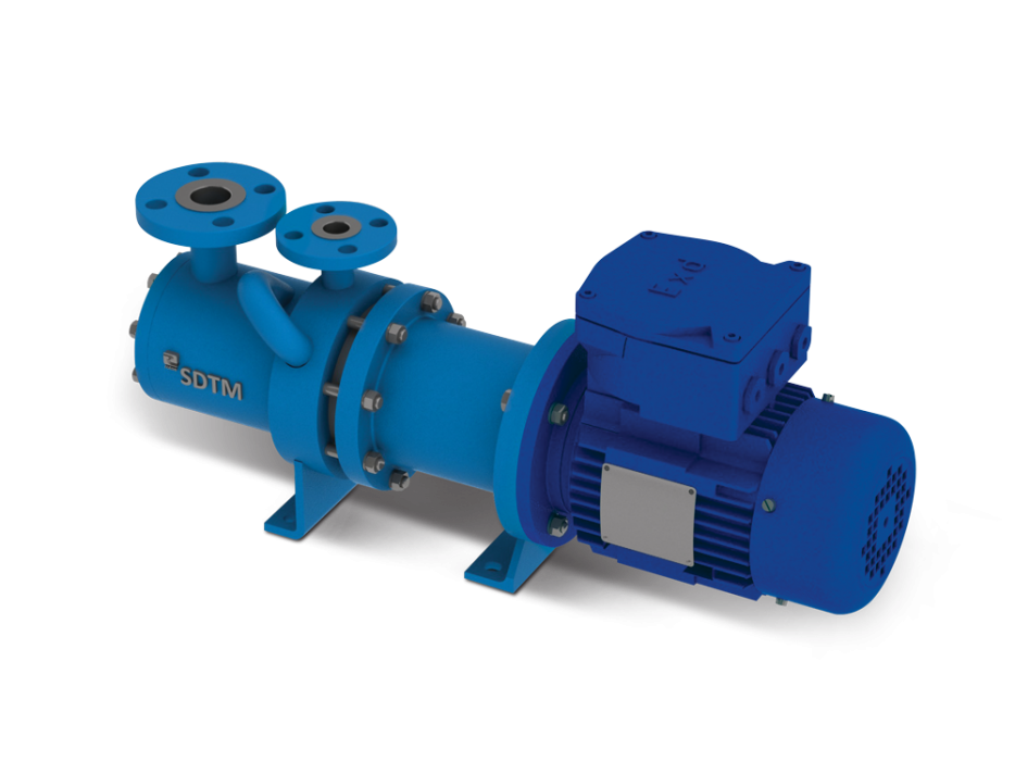 MULTI-STAGE--MAGNETIC-DRIVE-PUMP